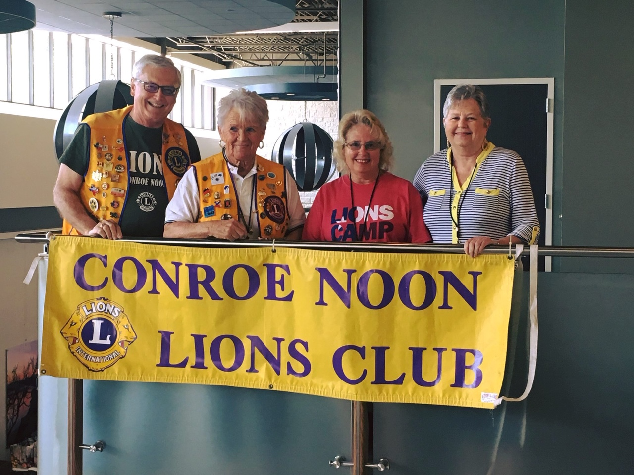 conroe noon lions club vision screening
